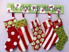 wooden stocking stand | Stocking holder-