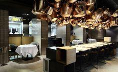 Hier macht Essen richtig Spaß: Der Fine Dining Salon fasziniert mit außergewöhnlichen Interieur und Gerichten des katalanischen Sternekochs Paco Pérez. Foto: PR/ Das Stue