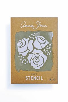 Roses from the Annie Sloan Stencil Collection