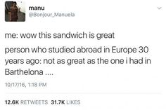 What a great sandwich