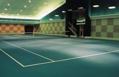 indoor home tennis court - Google Search