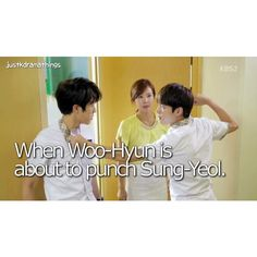 Nonono guys you are doing it wrong! You must love eachother my Infinite babys ♡♡♡