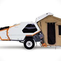 Tvan Firetail Camper Trailer. #camper #camping #outdoors