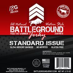 Standard Issue - BattleGround Beef Jerky