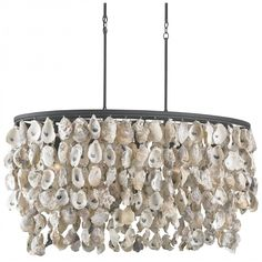 Currey and Company Stillwater Chandelier | Linear | Chandeliers | Lighting | Candelabra, Inc.
