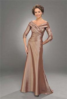 Bonny ruched mother of the bride dress