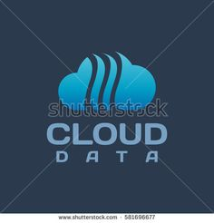 Cloud logo. Cloud vector icon. Cloud technology, computing, security, upload, data, download, technology icon. Web, digital, marketing, network icon.