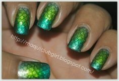 Loving it!!!  :-P Mermaids Nails