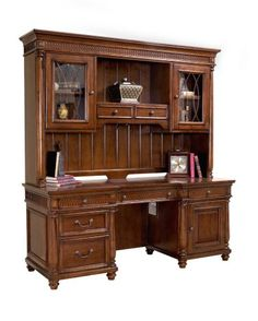 Wesley Computer Desk with Hutch