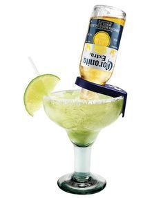 February 22nd is National Margarita Day!! Sit back and relax with this delicious CoronaRita recipe. Featuring healthy homemade sour mix.