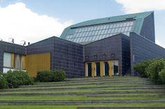 Grass Steps Lead to the Seinäjoki Town Hall by Alvar Aalto