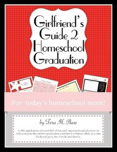 Homeschool Senior? Planning a graduation ceremony or party? This book will help you plan and organize it an not forget anything. Pretty pages, easy to use and works for any size graduation or party.Girlfriend's Guide 2 Homeschool Graduations
