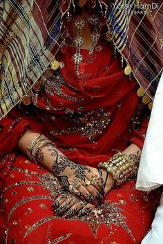 b431074e7 #Sudanese #bride with #henna in #Jirtig : #Traditional #Sudanese #Wedding