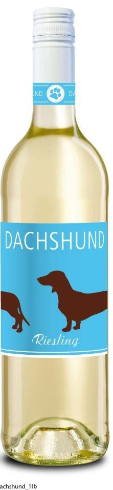 Dachshund Riesling - my favorite gift to give this christmas