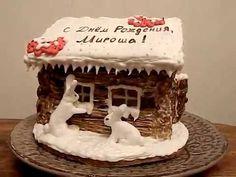 Пряничный домик на День Рождения
