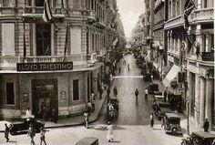 شارع شريف بالإسكندرية عام 1935