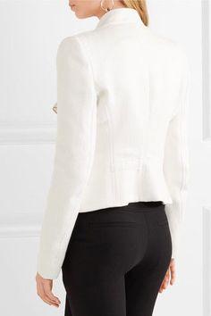 Ann Demeulemeester - Jersey Blazer - White - FR40