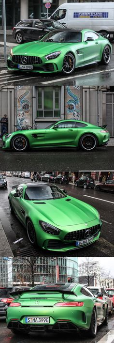 2016 Mercedes-AMG GT-R / 577hp / Germany / green