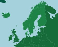 Play this quick geography game and see how well you remember the locations of the five Nordic countries on the map. Geography Games, Geography Map, Map Quiz, Country Maps, Teaching Biology, Central Europe, Social Studies, Finland, Continents