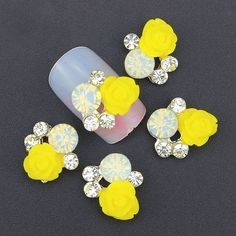 Sunshine with CZ Stones 3D Nail Art Charms