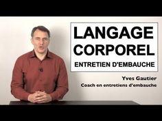 Entretien d'embauche : langage corporel et non verbal, les gestes qui trahissent - YouTube