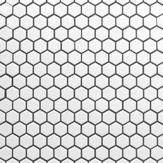 Kids bathroom floor- White Hexagon II Porcelain Mosaic - 12 x 12 - 100104637 Hexagon Tile Bathroom, Best Bathroom Tiles, Zen Bathroom, Hexagon Tiles, Basement Bathroom, White Bathroom, Bathroom Flooring, Small Bathroom, Bathroom Ideas