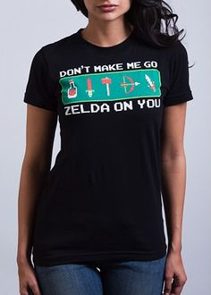 Like a boss! I want it! I miss Zelda!