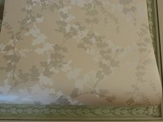 Laura Ashley Hawthorn pale bamboo leaf by TheWallpaperHouse