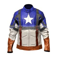 Captain America: The First Avenger , 2011 superhero film by Marvel Comics Movie Costume Jacket is now Available at Stylo Fashions worn by Chris Evans as Captain America Costume Jacket Replica  in Pure Leather.