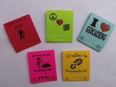 5 Matchbook Notepads