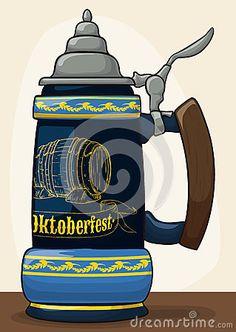 Illustration about Traditional porcelain stein with a hand carved barrel design and pewter lid for Oktoberfest celebration event. Illustration of beer, lager, european - 77527121 Pewter, Barrel, Hand Carved, Porcelain, Carving, Traditional, Disney Characters, Illustration, Fun