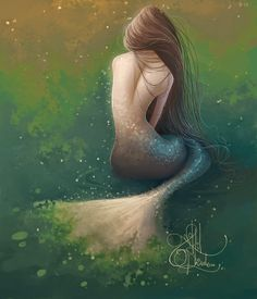 . . . . . n e k ' s . a r t . b l o g . . mermaid by  Nikhil Shinde