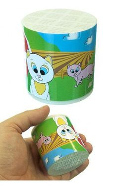 Cat in a Can Meow Animal Voices | Funny Sounds | ToySmith | 085761002838