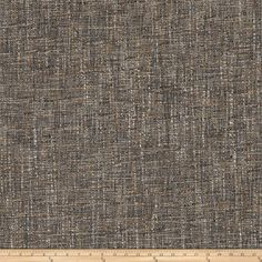Fabricut+Masa+Tweed+Granite from @fabricdotcom  This+versatile+woven+fabric+has+a+distinct+tweed+weave+and+thick-and-thin+threads+throughout.+It+even+features+a+lovely+low-luster+sheen+for+a+touch+of+elegance.+Perfect+for+upholstery+projects+(ottomans,+headboards),+revitalizing+old+furniture,+heavier+draperies,+cornice+boards,+and+toss+pillows.+This+fabric+exceeds+35,000+double+rubs.