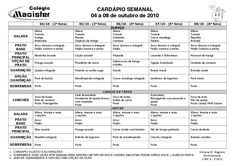 Cardápio Mensal, Cardápio Semanal, Cardápio, Cardápio Saudável, Listas de Compras, Compras de Supermercado, Planejamento de Cardápio, Alimentação, Dica de Congelamento, Apostilas