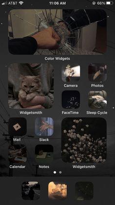 Iphone App Design, Iphone App Layout, Iphone Wallpaper Ios, Iphone Wallpaper Tumblr Aesthetic, Decoracion Habitacion Ideas, Handy App, Icones Do Iphone, Organize Phone Apps, Iphone Home Screen Layout