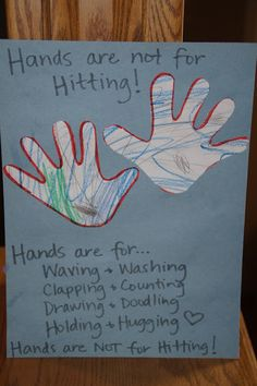 Rhinestones & Pine Cones: Letter of the Week....H is for Hands (and hands…
