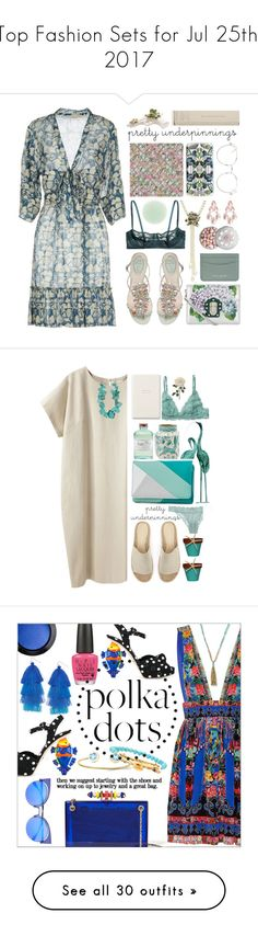 """Top Fashion Sets for Jul 25th, 2017"" by polyvore ❤ liked on Polyvore featuring STELLA McCARTNEY, René Caovilla, H&M, Nails Inc., Heidi Daus, Timorous Beasties, Dolce&Gabbana, Guerlain, Seletti and Burberry"