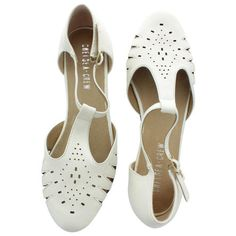 Navy Closed Toe Buckle Shoes For Women Fisherman