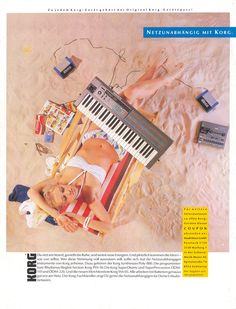 KORG Poly-800 Anzeige 1985