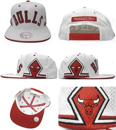 Mitchell & Ness – Chicago Bulls Retro Jersey Snapback Cap i needvthis in my lfe