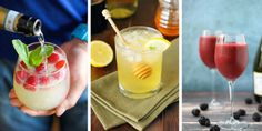 12 Cocktails Starring Your Favorite Wines  - HouseBeautiful.com
