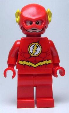 Lego Batman DC Universe 76012 The Flash Minifigure New | eBay