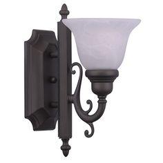 Livex Lighting French Regency Bronze Bath Light 1281-07
