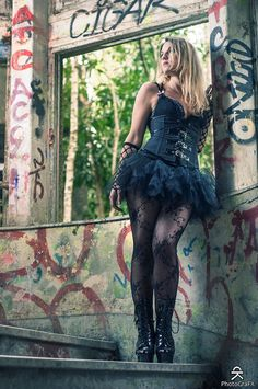 Urbex Blondie 7 by aliasdm