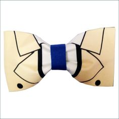 Castiel Inspired Supernatural Angel Hair Bow or Bow by GeekWithMe, $11.99