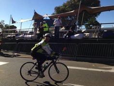 Snapped at finish of Argus cycle tour