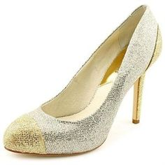 "A pair of super sparkly metallic pumps should be mandatory for every stylish mom. Michael Kors ""Sinclair"" pump, $55, Amazon."