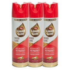 Aerosol Wood Cleaner and Preservative Cleaning Dust, Deep Cleaning, Natural Glow, Natural Oils, Wood Floor Finishes, Leather Granite, Liquid Gold, Gold Wood