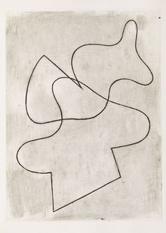 Jean Arp - the power of the seemingly simple. #abstract art #20th century art